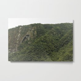 Aguascalientes green wall Metal Print