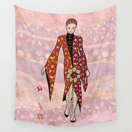 AUTUMN FAIRY - fashion illustration Wall Tapestry
