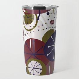 Active Wear Abstract Pattern Travel Mug