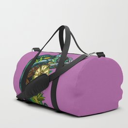 chameleon orchid Duffle Bag