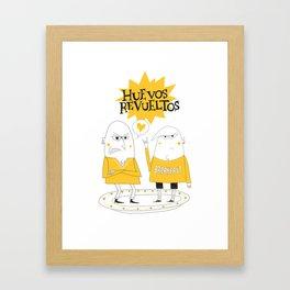 Huevos Revueltos Framed Art Print