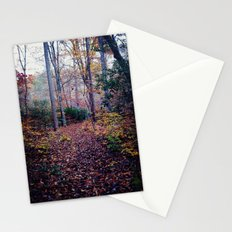 color of fall Stationery Cards
