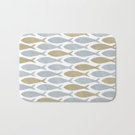 shoal of herring Bath Mat