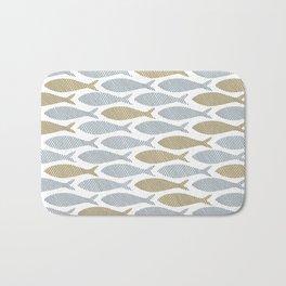 shoal of herring Bath Mat