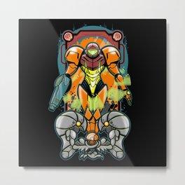 Samus Metal Print