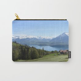 Lake Thun Bernese Oberland Switzerland Carry-All Pouch