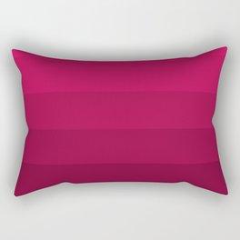 Dark Raspberry Rose Rectangular Pillow