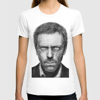 house md T-shirts featuring House MD by Olechka