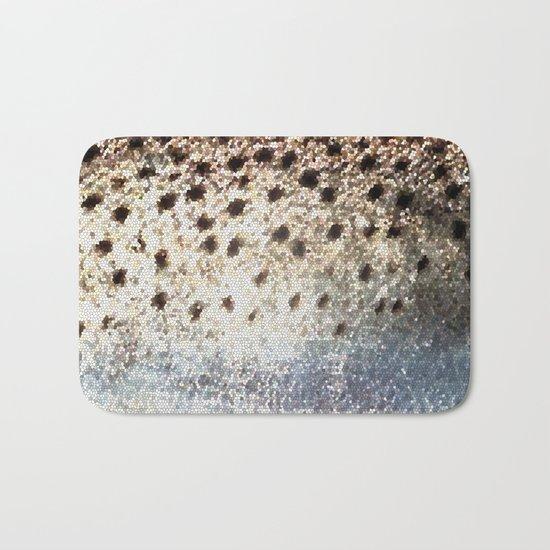 Trout Scales Bath Mat