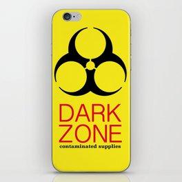 Dark Zone Supplies iPhone Skin