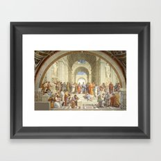 Raphael - School of Athens Framed Art Print