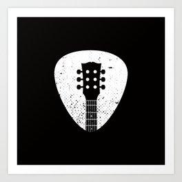 Rock pick Art Print