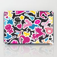 sticker iPad Cases featuring Sticker Frenzy by XOOXOO
