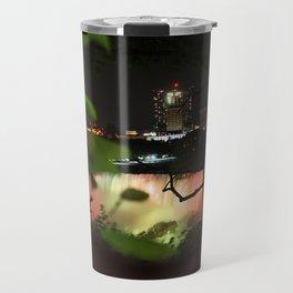 Niagara Falls at night Travel Mug