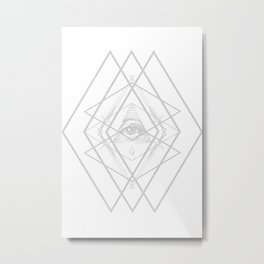 Diamond Eye Metal Print