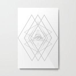 Diamond Eye Metal Print