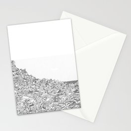 Houses in motion Stationery Cards