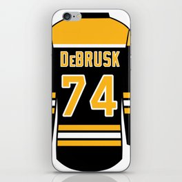 Jake DeBrusk Jersey iPhone Skin