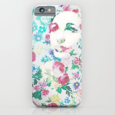 Rose Lady, Light Floral Patch Slim Case iPhone 6s