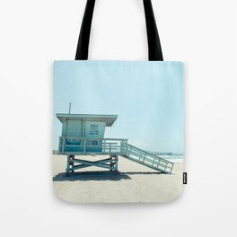 Hermosa Beach Lifeguard Tower 19 Tote Bag