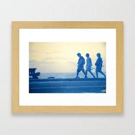 the boys  Framed Art Print