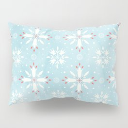 Christmas snowflakes pattern Pillow Sham