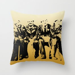 The Chaplins Throw Pillow