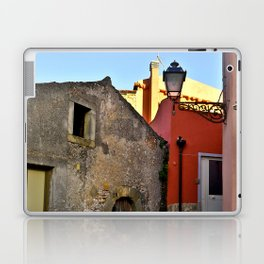 Medieval village of Sicily Laptop & iPad Skin