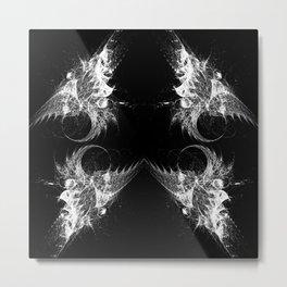 Dragon Wing Metal Print