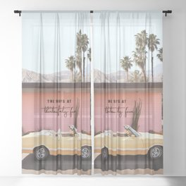 Thirteen Forty Five Sheer Curtain