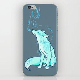 Water Fox Spirit iPhone Skin