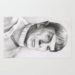 Spock Leonard Nimoy Portrait Rug