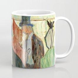 """Henri de Toulouse-Lautrec """"Monsieur Henri Fourcade au Bal de l'Opéra"""" Coffee Mug"""