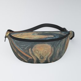 The Scream by Edvard Munch Fanny Pack