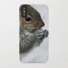 Snow Squirrel Slim Case iPhone X