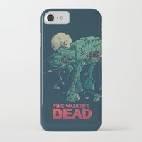 dead iPhone & iPod Cases featuring Walker's Dead by Victor Vercesi