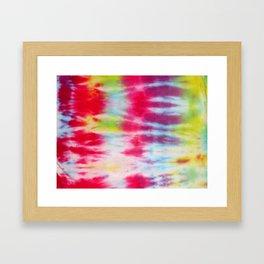 Tie Dye 011 Framed Art Print