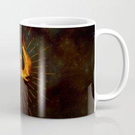 Fire Phoenix Bird Coffee Mug