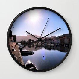 mediteran flair Wall Clock