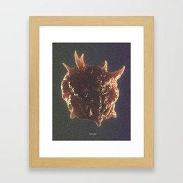 Doom – Cacodemon Framed Art Print