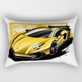 L. Aventador LP750- 4 SV Rectangular Pillow