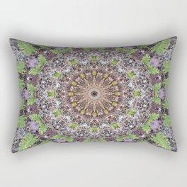 Natural elements in forest mandala Rectangular Pillow