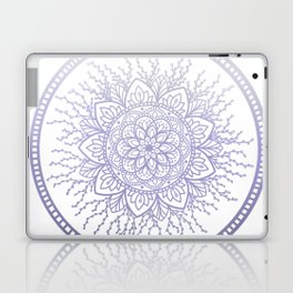 Lavender Nature Mandala Laptop & iPad Skin