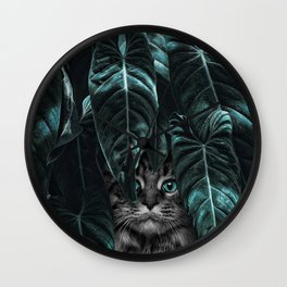 Furr you, cat lovers. Wall Clock