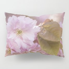 Cherry Blossom LOVE - Sakura - Pink Flower Flowers Pillow Sham