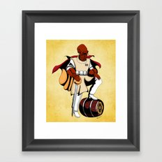 Captain Ackbar Framed Art Print