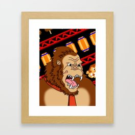 King of the Jungle Framed Art Print