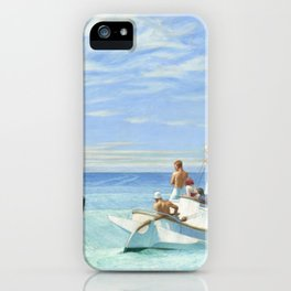 Edward Hopper Ground Swell 1939 Painting iPhone Case