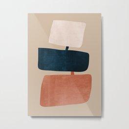 abstract minimal 52 Metal Print