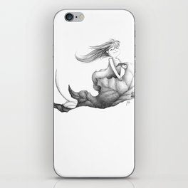 nimbly in flight iPhone Skin